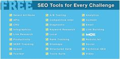 100 Best Free SEO Tools & Resources for Every Challenge - Interactive - Group Of Oceninfo