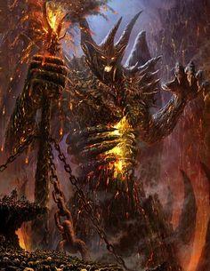 Demonio de las profundidades legend of the cryptids