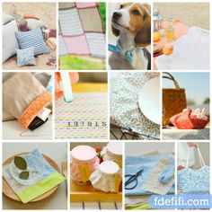 Ideas para hacer con Fat Quarter Dailylike Disponibles en www.fdefifi.com