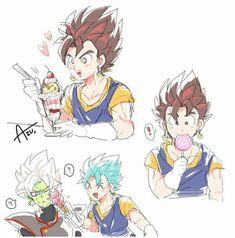 Dragon Ball Gt, Dragon Z, Dragon Tattoo Back, Small Dragon Tattoos, Black Goku, Kawaii Art, Kawaii Anime, Zamasu Black, Otaku