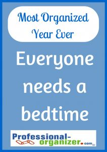 SO TRUE!!!!    A great night's sleep will make this Your Most Organized Year Ever.