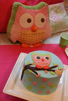 Owl Cake for 8 year old birthday by davidandkate95, via Flickr