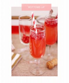 5 Valentine's Day Cocktails You Need To Try #valentinesdaycocktails #cocktails