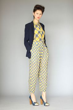 this collection by karen walker // great mixing of prints