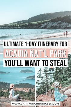 Are you ready to plan the perfect Maine vacation? Then you must add Acadia National Park to your itinerary! This convenient 1-day itinerary includes the best things to do in Acadia National Park. From the best Maine breakfast spot, to breathtaking Acadia National Park hiking trails, to epic photo locations, this guide covers the best of the Crown Jewel of the North Atlantic Coast. Come discover America's famous park! #mountdesertisland #mainetravel #acadianationalparkphotography #barharbor Acadia National Park Hiking, National Parks Usa, Rocky Mountain National Park, Travel Usa, Travel Maine, Canada Travel, Mount Desert Island, New England Travel, Epic Photos