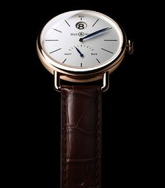 Bell & Ross Vintage WW1 Heure Sautante (Jumping Hour) in Rose Gold || Oh yes