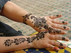 Fantastic Henna Hand Tattoo Designs - http://tattoosaddict.com/fantastic-henna-hand-tattoo-designs-3.html #designs, fantastic, hand, henna, henna tattoo, tattoo