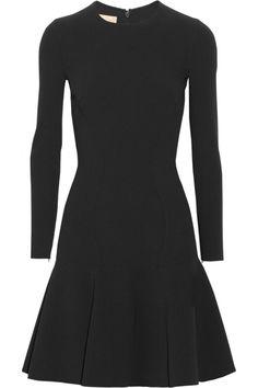 Michael Kors | Flared stretch-wool dress | NET-A-PORTER.COM