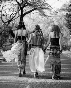 Boho women
