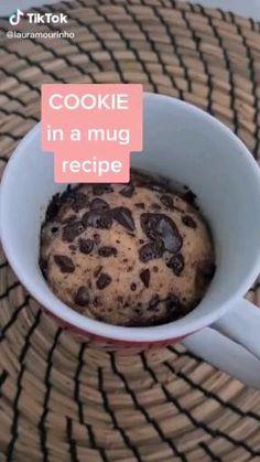 Fun Baking Recipes, Mug Recipes, Sweet Recipes, Köstliche Desserts, Dessert Recipes, Starbucks Recipes, Easy Snacks, Food Cravings, Food To Make