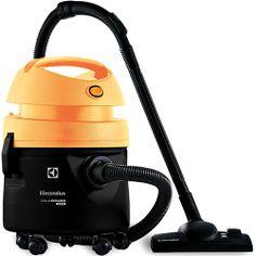 Aspirador de Água e Pó Electrolux Aqua Power Preto e Amarelo, por apenas R$249