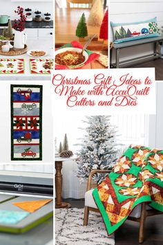 Christmas Quilting Patterns with your AccuQuilt Cutter and Dies Best Gift Ideas #quilting #gifts #Christmas #Accuquilt Christmas Quilt Patterns, Christmas Quilting, Easy Quilt Patterns, Project Free, Easy Quilts, Free Pattern, Best Gifts, Gift Ideas, Sewing