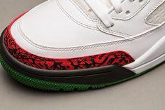 ff5aaa25059 Nike Air Jordan Spiz ike  OG  White Cement Grey-Classic Green-Varsity Red  315371-125 Sneakers