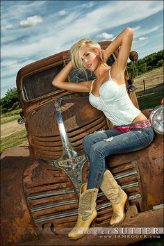 nice truck. But the girl, beyond words