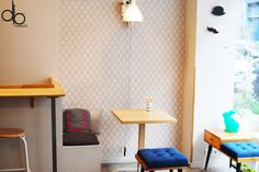 NeoBento Restaurant Paris Japan Bento Scandinave Wood Fille du Calvaire Interieur design decoration