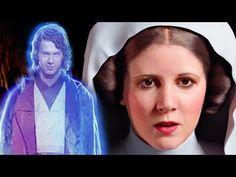 La Emotiva vez que el fantasma de Anakin Skywalker se le Presentó a Leia - Star Wars