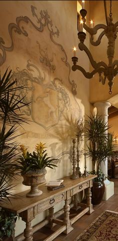 If you are having difficulty making a decision about a home decorating theme, tuscan style is a great home decorating idea. Many homeowners are attracted to the tuscan style because it combines sub… Home Decor Accessories, Tuscan, Home Decor, Mediterranean Homes, Tuscan Decorating, Tuscan Design, World Decor, Mediterranean Decor, Old World Style