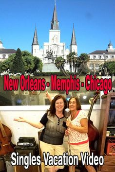 Memory video of the Best Single Travel New Orleans - Memphis - Chicago vacation