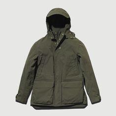 Olive Shell Jacket