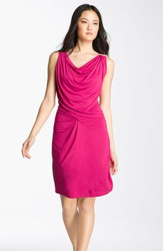 I ABSOFUCKINGLUTELY LOVE this!!!!!  MICHAEL Michael Kors Draped Jersey Dress available at Nordstrom