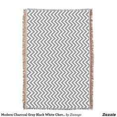 Wrap up with a Black blanket from Zazzle! Discover your cozy blanket today! Charcoal Gray, Grey, Black Blanket, Geometric Throws, Cozy Blankets, Clocks, Chevron, Outdoor Blanket, Canvas Art