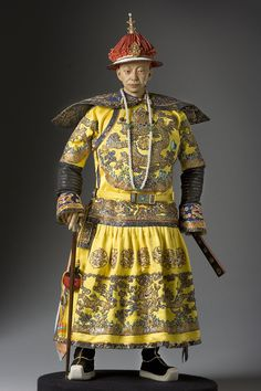 Hsien-Feng was the ninth Emperor of the Qing Dynasty, and the seventh Qing Emperor to rule over China, from 1850 to 1861