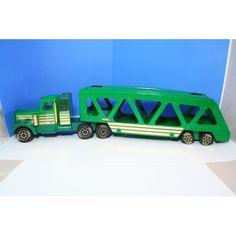 Green Kenworth Tonka Car hauler