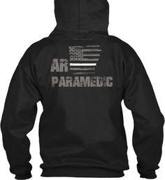 Arkansas Paramedic Thin White Line Hoodie  Wear your AR Paramedic and EMS pride and show your support for the Arkansas Thin White Line.  - Official Thin Line Style Apparel, printed in The USA - 50% Cotton, 50% Polyester - Double-needle stitching for durability, double-lined hood, pill-resistant air jet yarn - Machine Wash Warm, Tumble Dry Low. Do not bleach.