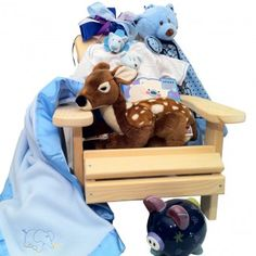 Mini Muskoka chair baby basket   for boys