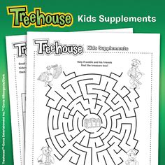 Try to figure out how to get from the start all the way to the finish with these challenging and fun mazes! Sweepstakes 2015, Treehouse Kids, Baby Carrots, Family Night, Babysitting, Kids Education, Parenting Hacks, Aunt, Kids Playing