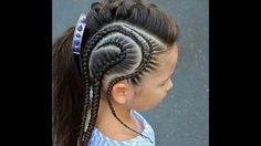 30 Braids Hairstyle Ideas for Little Kids 2019 GALA Fashion Cute Hairstyles For Kids, Kids Braided Hairstyles, Little Girl Hairstyles, African Hairstyles, Cool Hairstyles, Hairstyle Ideas, Teenage Hairstyles, Cornrow Designs, Curly Hair Styles
