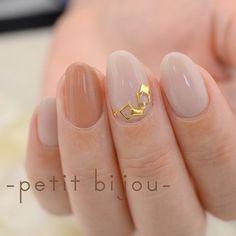 シンプルに。。。 の画像|Nail Atelier ―petit bijou―