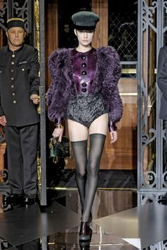 "Marc Jacobs ""Fetish"" show during Paris fashion week for Louis Vuitton Fall 2011"
