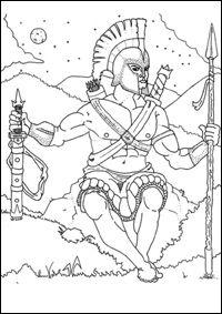 Fiche pédagogique : Les Dieux de l'Olympe dans la mythologie grecque.