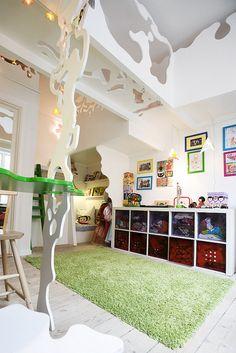 Børneværelse med kravlegang - designbykalledesignbykalle
