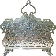 Antique Sterling Stationery Holder by Howard & Co. NY. (1884)
