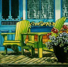 """Daily+Paintworks+-+""""Set+a+Spell""""+-+Original+Fine+Art+for+Sale+-+©+Margaret+Horvat"""