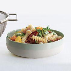 Heirloom Tomato Herb Pasta Salad