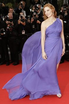 Jessica Chastain in Elie Saab Couture | Cannes Film Festival 2014