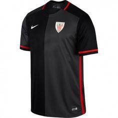 2ª Camiseta Athletic Club de Bilbao 2016 2017 Negra Athletic Clubs 7288320db9f