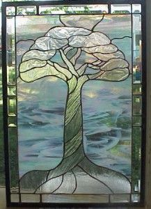 Beautiful stained glass tree from   Warner Stained Glass - Online Gallery
