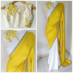 Patiala Salwar, Anarkali, Lehenga, Sari Blouse Designs, Blouse Patterns, Fancy Sarees, Party Wear Sarees, Indische Sarees, Sari Bluse