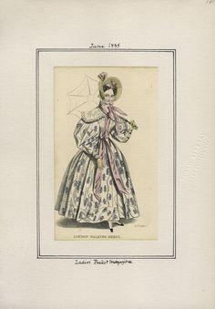Ladies' Pocket Magazine v. 16, plate 141 June, 1835