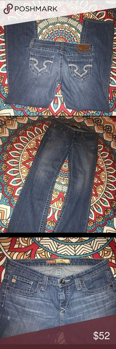 Big Star Remy women's jeans size 31R Perfect condition!! 💥BUNDLE AND SAVE💥 💕OFFERS WELCOMED💕 Big Star Jeans Boot Cut