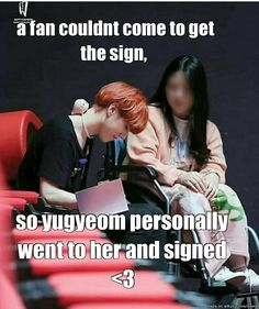 Yugyeom is so sweet that's why I love!!!