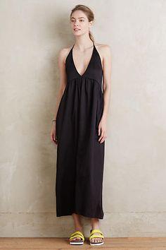 maxi dress + summer style + love