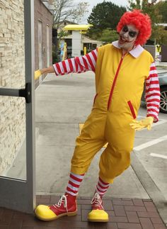 Ronald Mcdonald Joker Cosplay