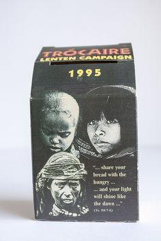 Trocaire box 1995 Lenten, Boxes, Memories, Memoirs, Crates, Souvenirs, Box, Cases, Remember This