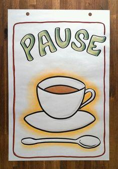Pausen-Flipchartbild, Flipchart-Seminare und Sketchnotes-Workshops, Seminare und Workshops in Flipch Visual Thinking, Design Thinking, Tattoo Painting, Workshop, Sketch Notes, Cocoa, Buisness, Ikon, Illustration