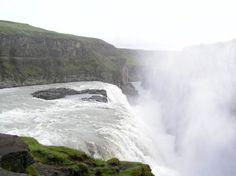 Zaujímavosti zo sveta - Fotoalbum - Krásy sveta - Vodopád Gulfoss2